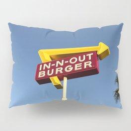 Retro burger Pillow Sham