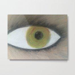 werewolf Eye see you Metal Print