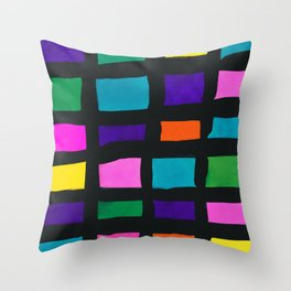 Drawing of childhood 1 Throw Pillow