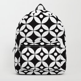 Geometric Pattern 167 (circles dots) Backpack