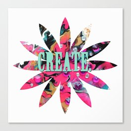 Create. Canvas Print