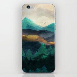 Green Wild Mountainside iPhone Skin