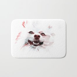 Double Vision Pomeranian Bath Mat