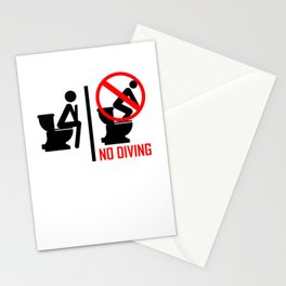 Plumber Man Dad for Toilet Clogging Champion Stationery Cards