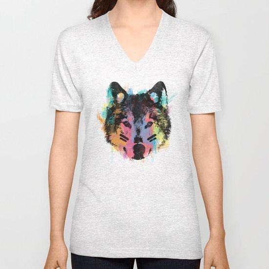 Wolf Child Unisex V-Neck