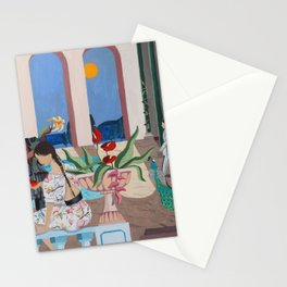 Midnight Rendezvous Stationery Cards