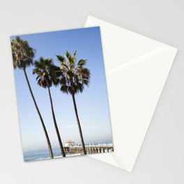 The Palms at Manhattan Beach Pier  //  Travel the World Stationery Cards