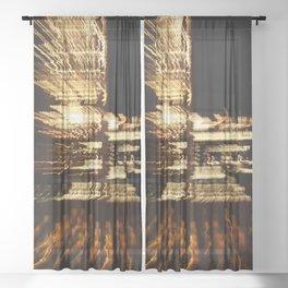 City Lights Sheer Curtain