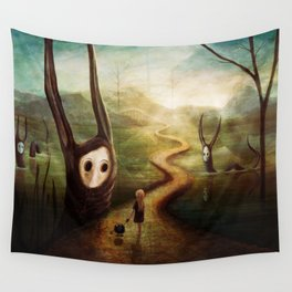 """""""May we pass by?"""" Wall Tapestry"""
