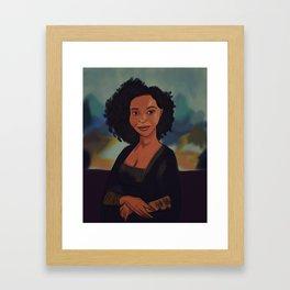 The Mona Lakeesha Framed Art Print
