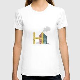 H is for House - Letter H Monogram T-shirt