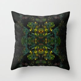 natural geometry Throw Pillow