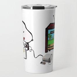 Game on Snoopy Travel Mug
