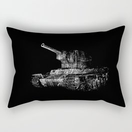 Soviet Tank Rectangular Pillow
