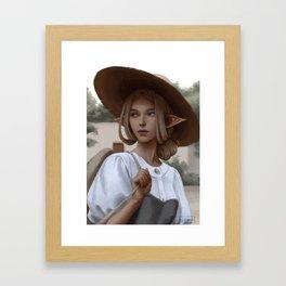 Nalia Framed Art Print