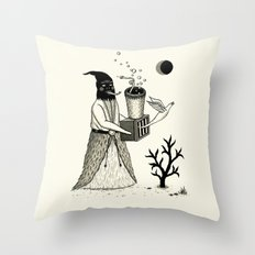 Harbinger of Anxiety Throw Pillow