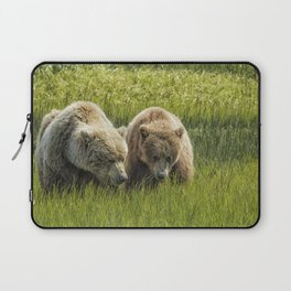 Eating Side by Side Laptop Sleeve