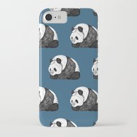 pandas iPhone & iPod Cases featuring Pandas by Diana Hope
