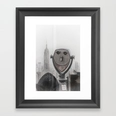 Empire State NYC Framed Art Print