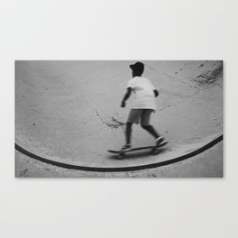 skateboard 1 Canvas Print