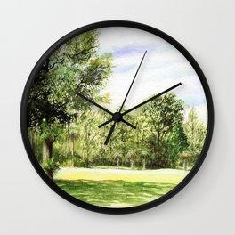 Perry Golf Course Florida Wall Clock
