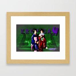 Geisha Des Moines, Iowa Framed Art Print