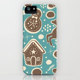 Gingerbread iPhone Case