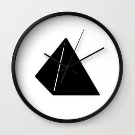 Shapes Pyramid Wall Clock