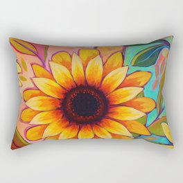 Sunflower Power 2 Rectangular Pillow