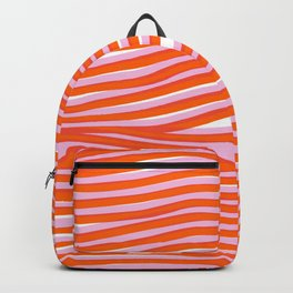electric zebra stripes Backpack