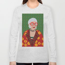 Iris Apfel Long Sleeve T-shirt