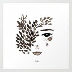 Miss Alli Art Print