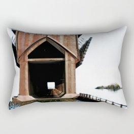 Surreal ore dock Rectangular Pillow