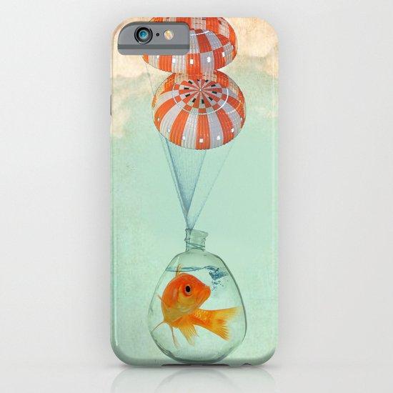 parachute goldfish iPhone & iPod Case