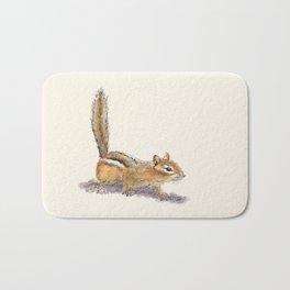 Curious Chipmunk Bath Mat