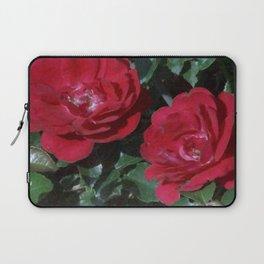 Red Rose Pair Laptop Sleeve