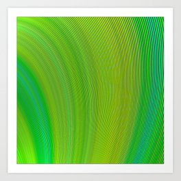 Swaying in the Wind Art Print