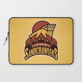 Tatooine SandCrawlers - Gold Laptop Sleeve