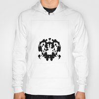 rorschach Hoodies featuring Rorschach by poindexterity