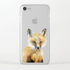 Little Fox Clear iPhone Case