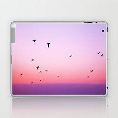 birds in the sky rose Laptop & iPad Skin