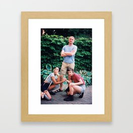 Squaw Goals Framed Art Print