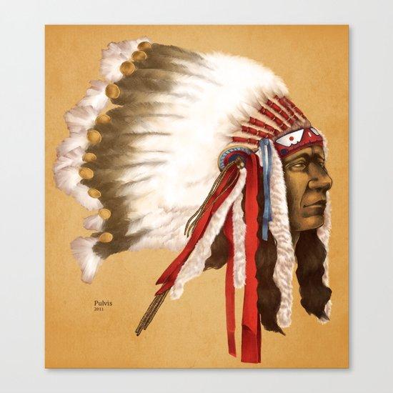 Crow Native American Canvas Print