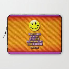A Cheerful Look Laptop Sleeve