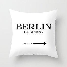 Berlin - Germany Throw Pillow