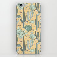 guns iPhone & iPod Skins featuring Succulent Guns by LaPenche