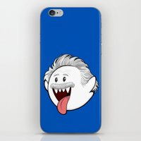 boob iPhone & iPod Skins featuring Boo Einstein by Olechka