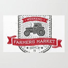Weekend Farmers Market Rug