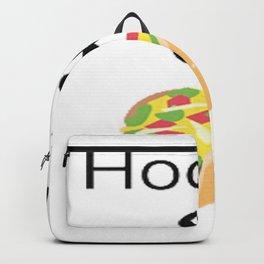 Hockey & Taco (with Taco Clip Art) Backpack