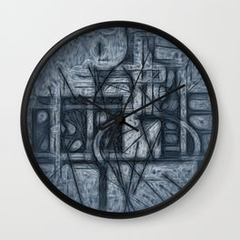 Matted Wall Clock